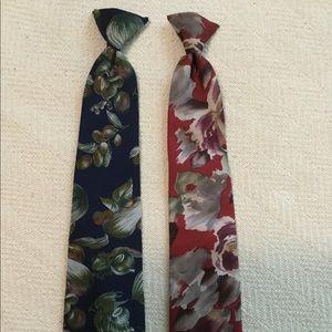 Clip On Tie set of 2